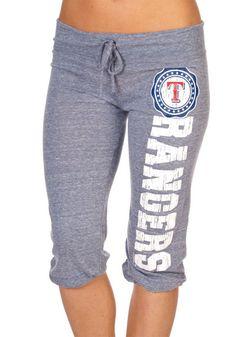 Texas Rangers Jr. Tri-Nat Jersey Capri  $32.95