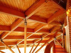 Arq.JAIME ORTIZ MONASTERIO-Casa en Tepoztlán, Morelos, México-Cubierta de madera laminada.