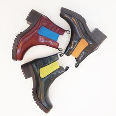 Fornarina FW14-15 Beatles Boots | #colors #shoesaddicted