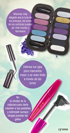 #PrimerasVecesbyCyzone DIY Maquillaje con anteojos ♥ -  #PrimerasVecesbyCyzone