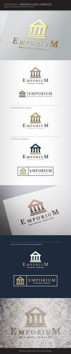 Emporium Logo by moccadsgn on DeviantArt