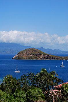 Les Saintes, Guadeloupe The best little French island.  Amazing snorkeling:)