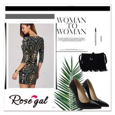 """Rosegal"" by mayabee88 ❤ liked on Polyvore featuring Nika"