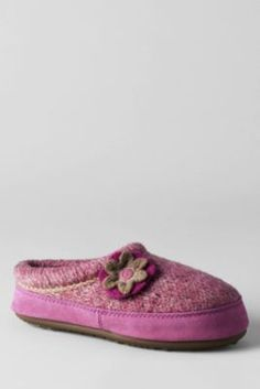 10786aaa7497e Women s Flower Clog Slippers from Lands  End