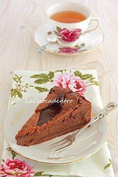 Crostata al cioccolato di Ernst Knam   La Cuoca Dentro