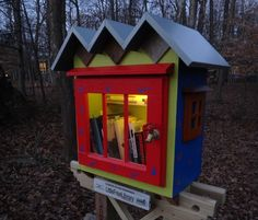 A Little Free Library - still on my list (eclectic  by Jim Peterson Architect & Builder)