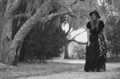 Stevie Nicks style coat, Bohemian lace duster, RomanticBlack Velvet coat dress, Boho dresses, Shabby jacket, True rebel clothing