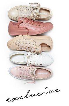 New Converse Styles Exclusive Nude collection