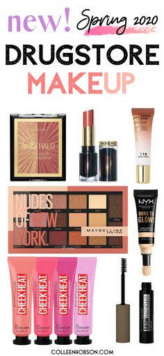 Neue Drogerie-Make-up-Produkte 2020 products best products drugstore products must have products natural products that really work Best Drugstore Makeup, Best Makeup Products, Beauty Products, Makeup Dupes, Beauty Dupes, Elf Makeup, Makeup Kit, Skin Makeup, Hair Products