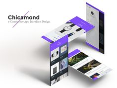 "Check out this @Behance project: ""Chicamond e-commerce app interface design"" https://www.behance.net/gallery/34389865/Chicamond-e-commerce-app-interface-design"