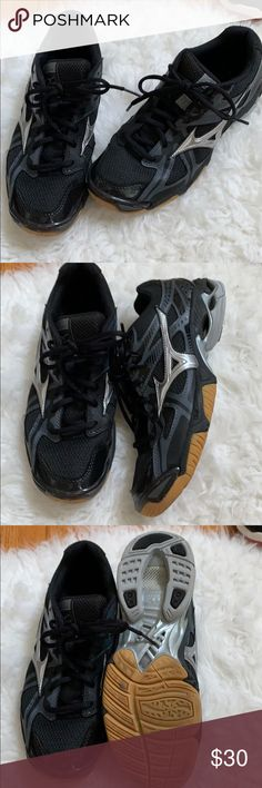 mizuno womens volleyball shoes size 8 x 1 jersey navy lace leggings