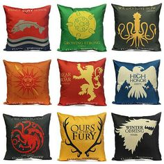 Game of Thrones #throwpillow cases.