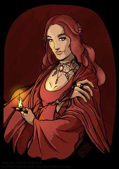 Melisandre of Asshai by Nielemzk