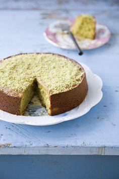 Pistachio Cake @Jen Laceda | Tartine and Apron Strings