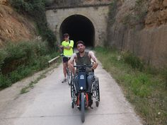#BatecTravels Un viaje accesible con handbike acoplable, silla de ruedas y niños