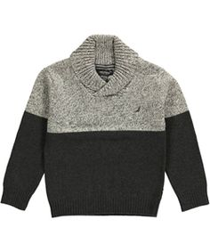 "Nautica Big Boys' ""Calm Ocean"" Sweater (Sizes 8 – 20) $24.99"