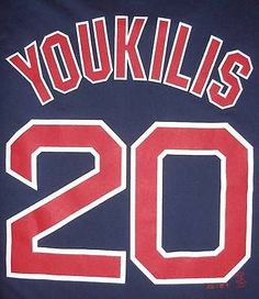 b4fe4b5ee Boston Red Sox Kevin Youkilis 20 Mens T Shirt Size L by Majestic MLB Navy  Blue