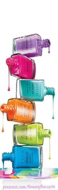 ~Color Pop Nail Polish By: Avon | The House of Beccaria