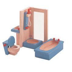 Plan Toys Dollhouse Bathroom-Neo | Wayfair