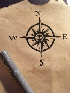 Tutorial: Steps for creating an old scroll or antique looking paper and drawing a treasure or pirate map. Bonus: how to draw a world map.