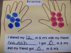 Chalk Talk: A Kindergarten Blog: A Fair Share