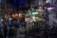Capturing the cacophony of urban life, this series of superimposed photographs renders local phenomena, regional monuments and international architecture in a strangely compelling style. Alessio Tr...