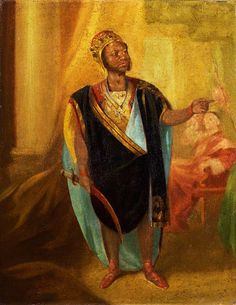 Ira Aldridge as Othello, artist unknown, painted around 1848