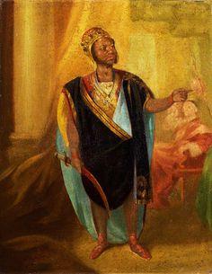 Ira Aldridge as Othello, artist unknown, painted around 1848