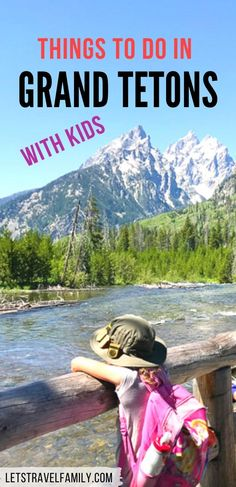 Find fun things to do in Grand Tetons with kids while you're planning your summer vacation. Find great hikes in Grand Teton National Park and fun places to camp too. Be sure to include Grand Teton in your road trip itinerary as you plan a Yellowstone National Park trip. #grandteton #wyoming #grandtetonnationalpark National Parks Usa, Grand Teton National Park, Yellowstone National Park, Rocky Mountains, Wyoming, Vacation Ideas, Grand Canyon, Stuff To Do, Things To Do