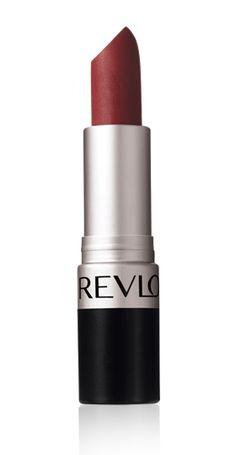 Revlon Matte Lipstick in Really Red. The absolute best drugstore matte formula.