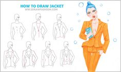 Learn how to draw fashion sketches: www.idrawfashion.com     mg