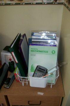 Homeschool Supplies Organization