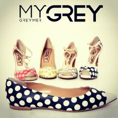 #newcollection #SS14 MyGREY #shoes #greymer #pois for #summer #love #happy #photooftheday  www.greymer.it