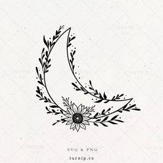Sun Tattoos, Small Tattoos, Sleeve Tattoos, Moon Star Tattoo, Tattoo Mond, Celestial Tattoo, Star Svg, Tattoo Designs, Tattoo Ideas