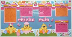 28 Great Picture of Scrapbook Pages Ideas . Scrapbook Pages Ideas Blj Graves Studio Chicks Rule Easter Scrapbook Page Scrapbook Designs, Scrapbook Page Layouts, Scrapbook Paper, Scrapbooking Ideas, Book Projects, Diy Projects, Upcycled Crafts, Art Pages, Paper Piecing