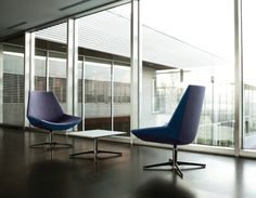 Synergy Mid Back Lounge Chair by Gordon International