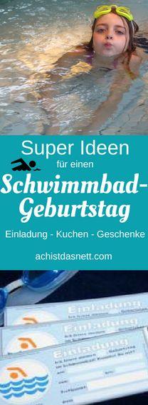 Schwimmbad-Geburtstag! Auch einen Kindergeburtstag im Schwimmbad kann man persönlich gestalten mit Schwimmbad-Einladung, Kuchen, genialen Geschenkideen. Mehr auf: http://www.achistdasnett.com/motto-geburtstage/category/schwimmbadgeburtstag #schwimmbadgeburtstag #schwimmbad-geburtstag #kindergeburtstag #schwimmbad #imschwimmbad #geburtstagsfeier