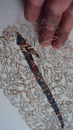 Halûk Kürkçüoğlu Kaatı sanatı