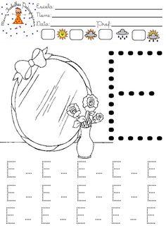 Resultado de imagem para atividades com a letrinha e Word Search, Diagram, Map, Words, Letter E Activities, Lyrics, Blouse, Location Map, Peta