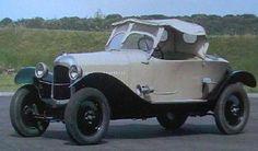 1923 Citroën Type B2 10hp Torpedo Caddy