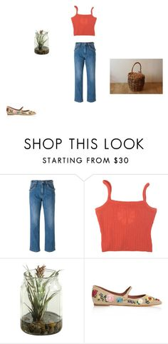 """ai, vou passear no campo"" by thisisnotmyname ❤ liked on Polyvore featuring See by Chloé"