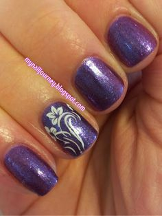 My nail journey: OPI Grape...Set...Match Swatches and Stamping With Mash Plate 46