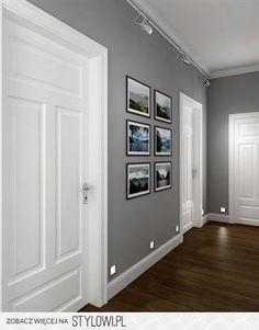 szary kolor ścian