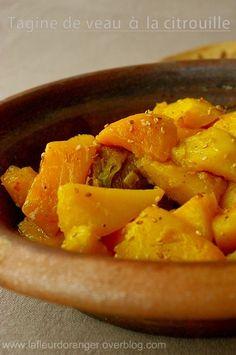 Tajine à la citrouille - Blog cuisine marocaine / orientale Ma Fleur d'Oranger…