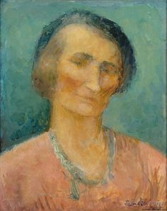 Ester Helenius (Finland 1875-1955), Self-Portrait 1937. Collection Finnish National Gallery, Helsinki.