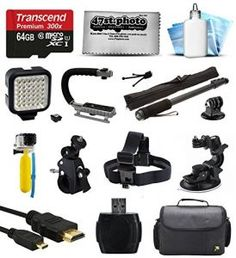 8.The Best Accessories Kit for GoPro Hero 4 Reviews