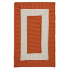 Breakwater Bay Kenton Orange Area Rug