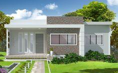 fachadas de casas quadradas pequenas - Pesquisa do Google