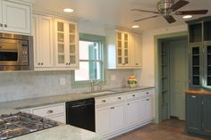 custom kitchen cabinets fabricated from a tree on the homeowner's property