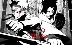 Naruto vs. Sasuke - Naruto Shippuuden Wallpaper (19942440) - Fanpop